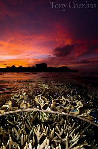 Sunset Psychedelia: Nikon D7000, Nikkor 10-24, F11, 1/30,... by Tony Cherbas