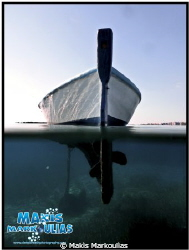 Boat over/under Sony compact camera Sony housing extra fi... by Makis Markoulias