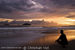 """Selfportrait at Ixtapa"" by Christian Vizl"