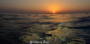 Sunset by Leena Roy
