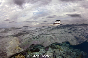 Windy day at the Red Sea by Stan Flachs