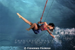 Playing with the sea. by Francesco Pacienza