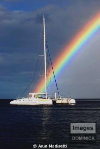 Rainbows end by Arun Madisetti