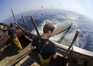 trawler fishermen by Mathieu Foulquié