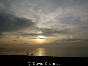 Early Morning Beach Scene Lake Ontario, Photo near French... by David Gilchrist