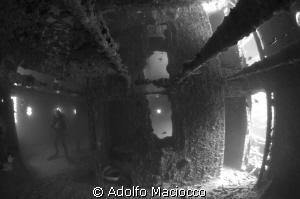 SS Thistlegorm The captain's cabin 2 by Adolfo Maciocco