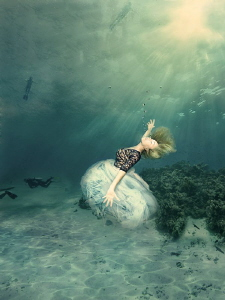 Drowning in the sun by Lucie Drlikova