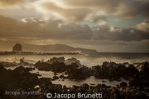 sunset after Nadine hurricane, azzorre by Jacopo Brunetti