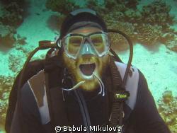 Diver cleaning station by Babula Mikulova