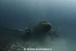 DOUGLAS C 47 A DAKOTA AIRPLANE WRECK Canon 450, Tokina 1... by Oxana Kamenskaya