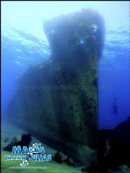Wreck - Camera Compact Sony - Sony Housing - Extra bigeye... by Makis Markoulias