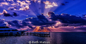 Sunrise in Belize! by Beth Watson