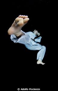 Underwater Karate by Adolfo Maciocco