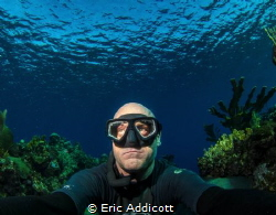Freediving Roatan, Honduras, Canon S95 by Eric Addicott