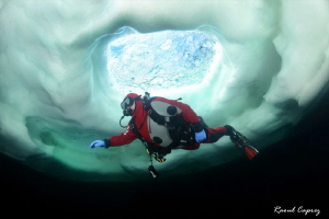 Freezing entry :-) by Raoul Caprez