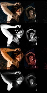 FOUR same same but different stack of 4 images post-pro... by Mona Dienhart