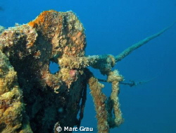 Rope into the sea by Marc Grau