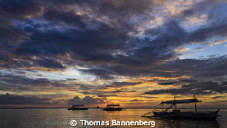 The end of an exciting day of diving ...