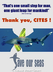thank you - CITES ! by Claudia Weber-Gebert