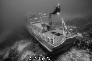 Bodrum - Coast Guard Wreck by Oktay Calisir