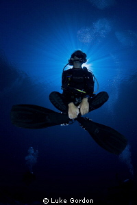 Underwater Buddha? by Luke Gordon