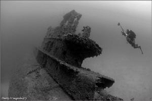 Photographer. HMS Stubborn. 56 meters deep. by Dmitry Vinogradov