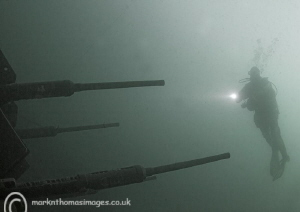 In the firing line. AA guns in the Delph. by Mark Thomas