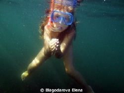 Diver's child. by Blagodarova Elena