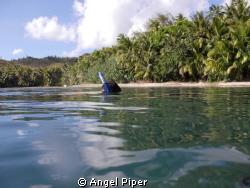 Cetti bay Guam by Angel Piper
