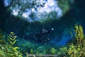 San Giorgio a Liri Lake, a little spring in the center of... by Marco Bartolomucci