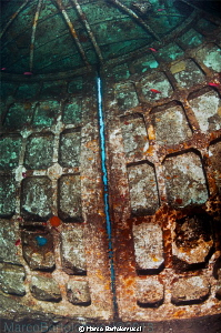 """Wreck of the Ferry Cariddi- The bow port of the Ferry """" C... by Marco Bartolomucci"""