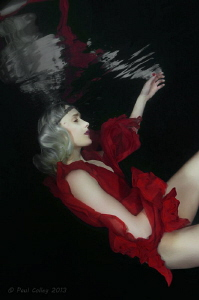 dreaming in red by Paul Colley