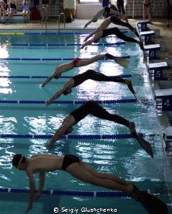 Finswimming by Sergiy Glushchenko
