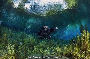 San Giorgio a Liri Lake by Marco Bartolomucci