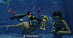 Snorkeling Close Encounters of the Third Kind by Marc Grau