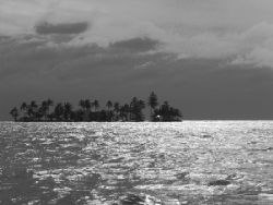 Is that storm heading our way? Belize Barrier Reef by Martin Spragg
