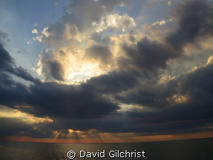Lake Ontario Sunset from Niagara on the Lake by David Gilchrist