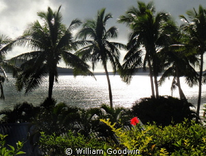 Late in the day at Wananavu by William Goodwin