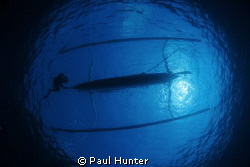 Our dive boat while diving in Bali by Paul Hunter
