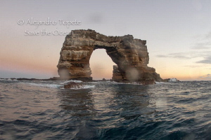 The Arch of Darwin, Galapagos Ecuador by Alejandro Topete
