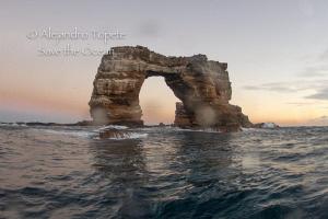 The Arch of Darwin, Galapagos Ecuador by Alejandro Topete