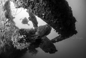 PROPELLER -50m Gili Raja Wreck by Mona Dienhart