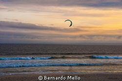 A nice afternoon on the Rio beach at Barra by Bernardo Mello