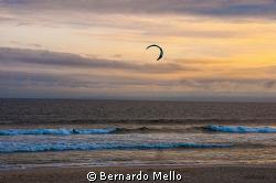 A nice afternoon on the Rio beach at Barra by Bernardo Mello