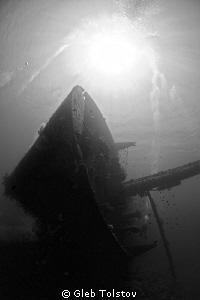 Cedar Pride wreck by Gleb Tolstov
