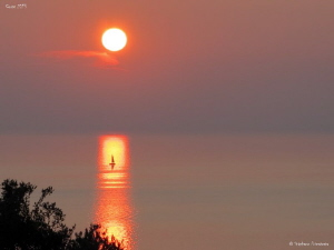 Farinole Sunset, Corsica. by Stéphane Primatesta