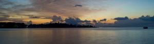 Sunset in Bunaken marine park by Alex Varani