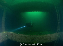 "Inside the cargo room of the wreck ""Neuenfels"" in Narvik ... by Constantin Ene"