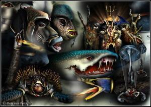 Poseidon's Warriors by Dray Van Beeck