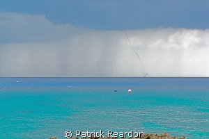 Waterspout!  Nothing like a little entertainment before a... by Patrick Reardon